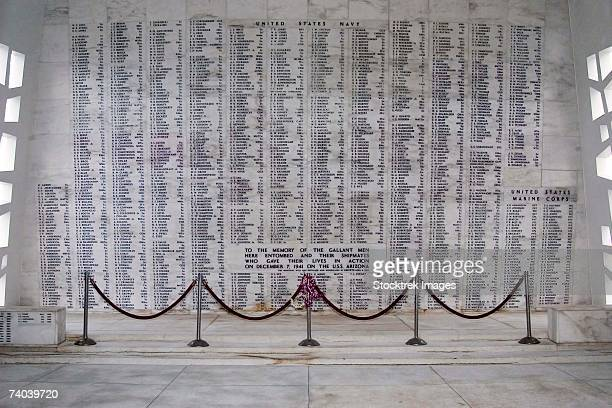 Pearl Harbor, Hawaii (December 7, 2006) - A moment of silence for the USS Arizona Memorial in honor of those who gave their lives in the defense of our country.