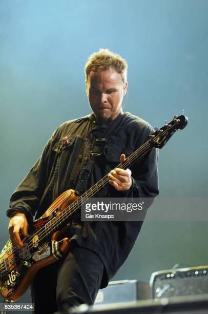 Pearl Jam Jeff Ament Rock Werchter Festival Werchter Belgium