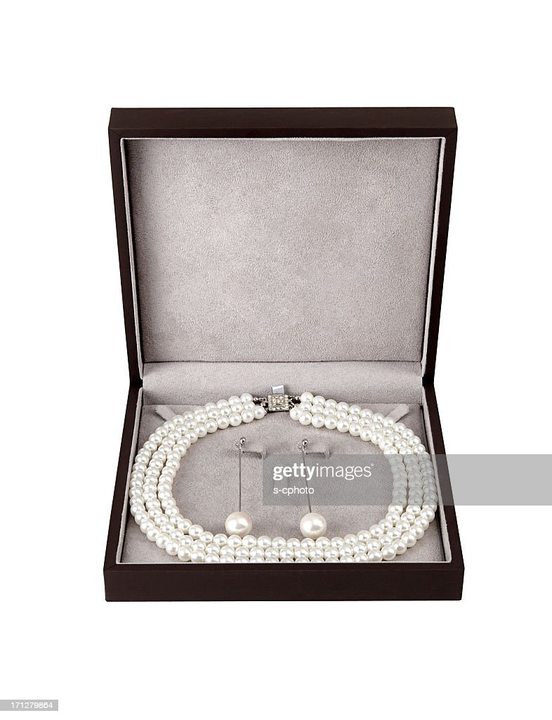 Pearl Jewelry Set +Clipping Path