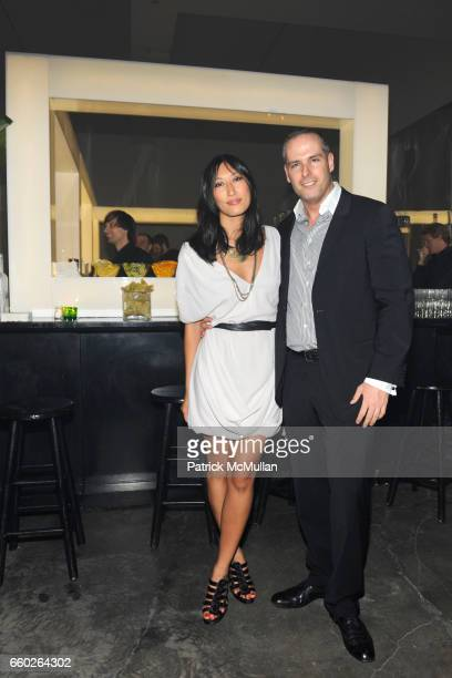 Pearl Lee and Patrick McGregor attend The 2009 WHITNEY ART PARTY presented by BCBG and MAX AZRIA at Skylight on June 17 2009 in New York City