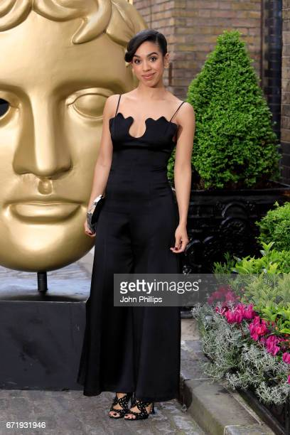 Pearl Mackie attends the British Academy Television Craft Awards on April 23 2017 in London United Kingdom