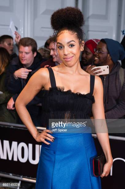 Pearl Mackie attends the Glamour Women of The Year awards 2017 at Berkeley Square Gardens on June 6 2017 in London England