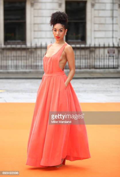 Pearl Mackie attends the preview party for the Royal Academy Summer Exhibition at Royal Academy of Arts on June 7 2017 in London England