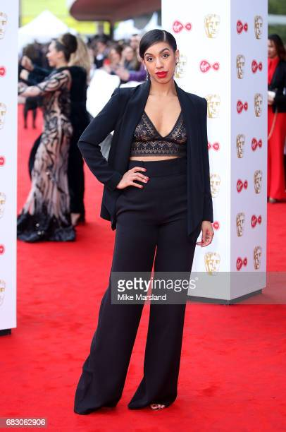 Pearl Mackie attends the Virgin TV BAFTA Television Awards at The Royal Festival Hall on May 14 2017 in London England