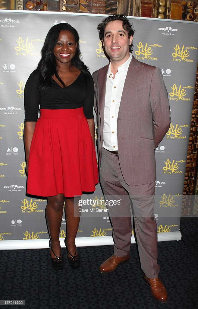 Pearl Mahagaa and Tudor Payne attend the Undefeated UK Film Premiere on November 29, 2012 in London, England.