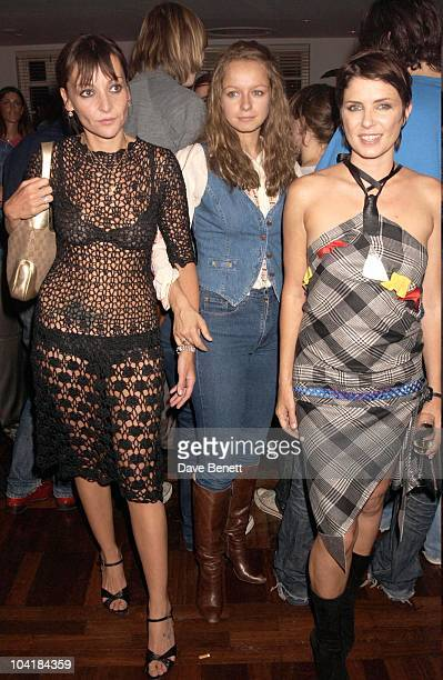 Pearl Samantha Morton And Sadie Frost Wheels And Dolls Baby Party At Harvey Nicholls London