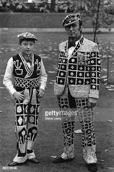 Pearly Kings in the East End of London 1960s