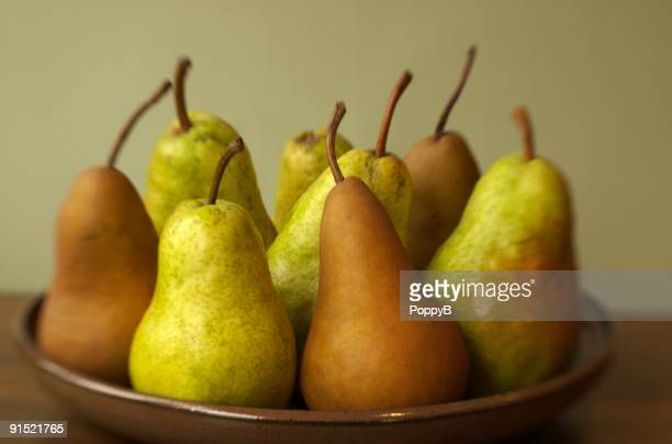 Pears on a Pottery Plate