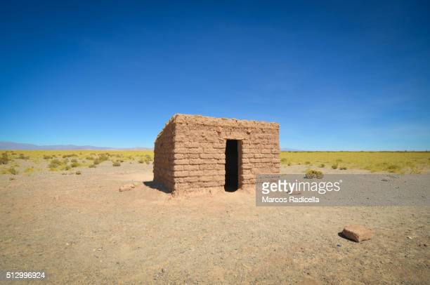 Peasant house, in Salinas Grande, Jujuy Province, Argentina