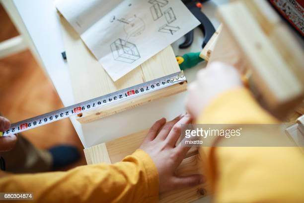 Peasuring tape measure