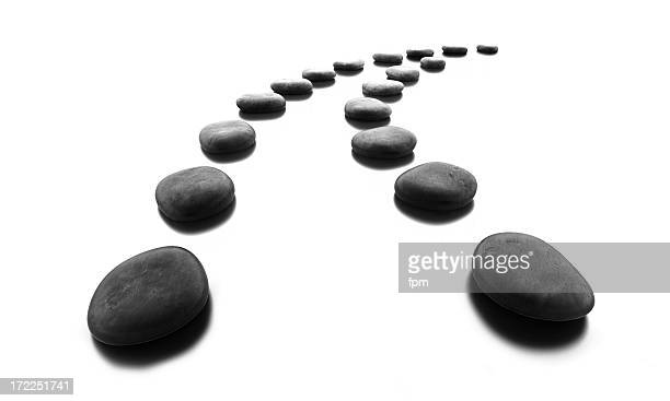 Pebble Stone Path