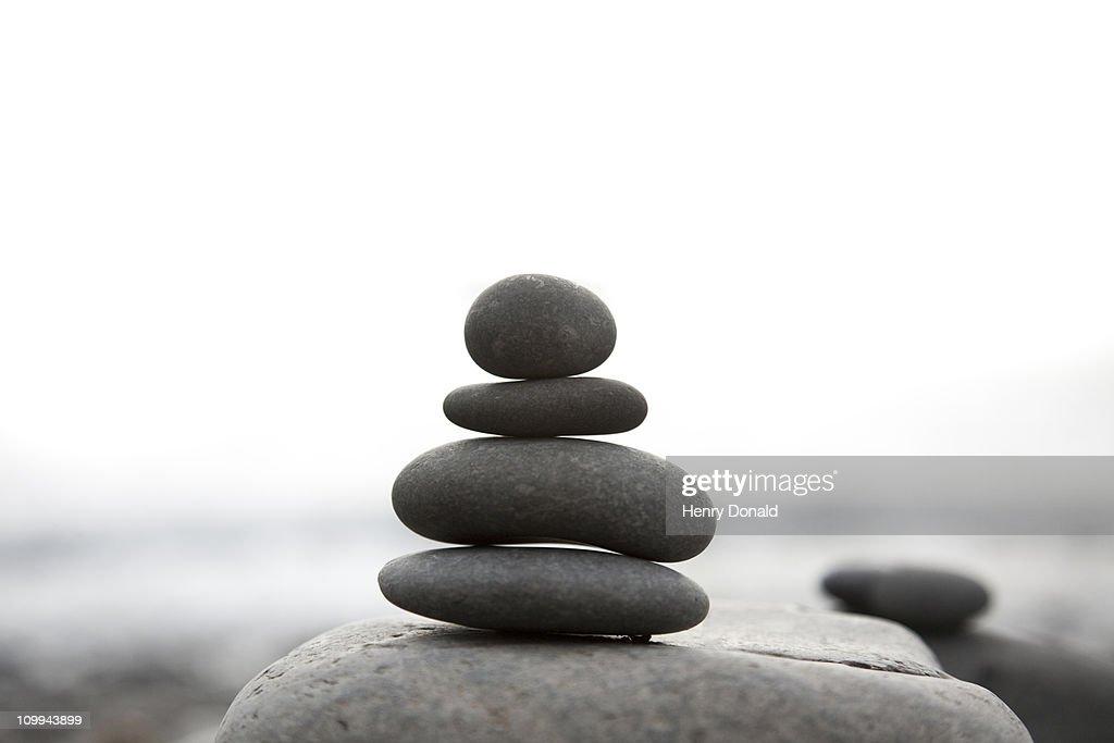 Pebble structure