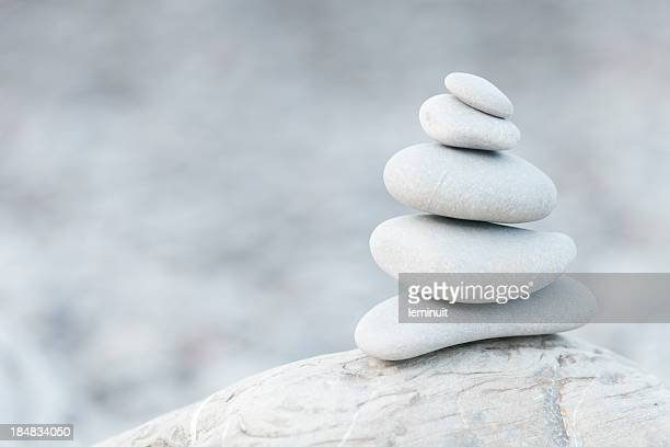 Pebbles, balance and Zen