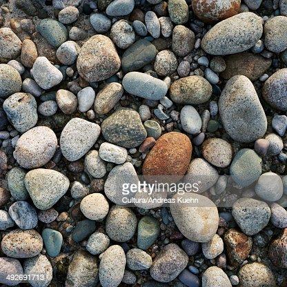 Pebbles, full frame