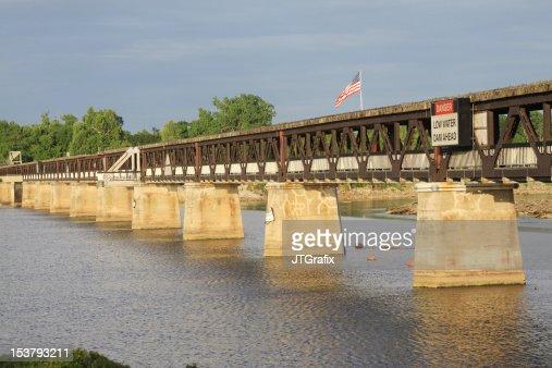 Pedestrian Bridge, Arkansas River, Tulsa, Oklahoma