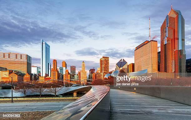 Pedestrian Bridge, Chicago, Illinois