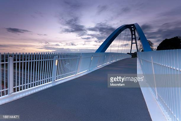 Pedestrian bridge over M5 motorway Exeter