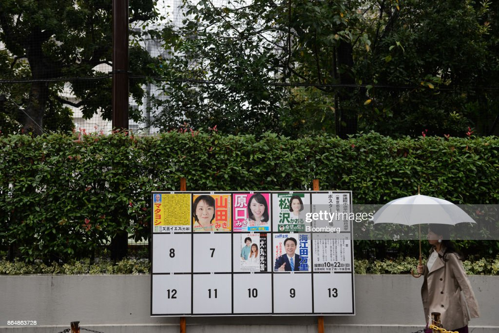 Japan Holds General Election