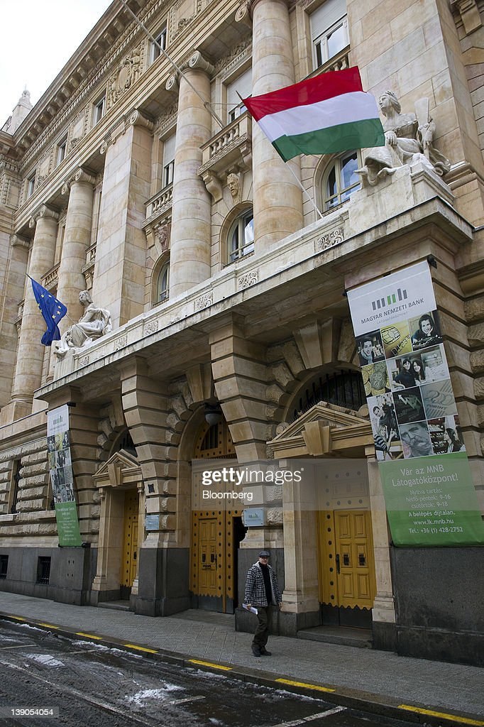 Bank Hungary  city photos : the Magyar Nemzeti Bank, Hungary's central bank, in Budapest, Hungary ...