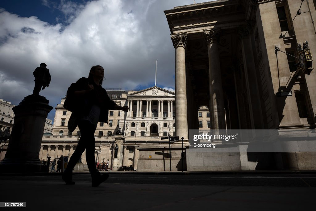 Bank Of England To Cut Growth Forecasts After First-Half Slowdown : News Photo