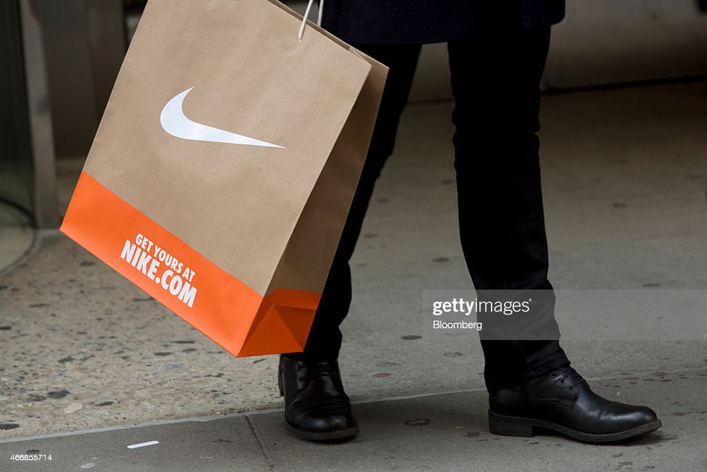 Nike Inc. As Earns Figures Are Released Photos and Images | Getty ...