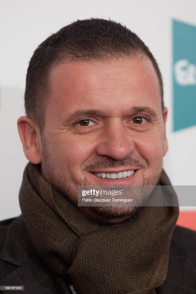 Pedja Mijatovic attends 'As Del Deporte' Awards 2012 at The Westin Palace Hotel on December 10, 2012 in Madrid, Spain.