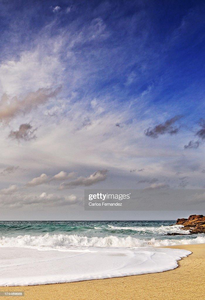 Pedra do Sal in Spain : Stock Photo
