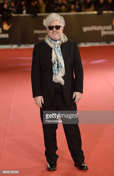 Pedro Almodovar attends 'Feroz Awards 2014' at Callao Cinema on January 27 2014 in Madrid Spain