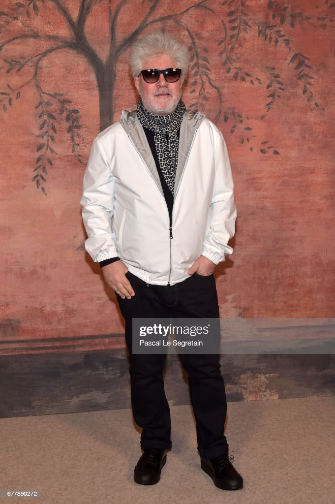 Pedro Almodovar attends the Photocall of the 'Chanel Cruise 2017/2018 Collection' at Grand Palais on May 3, 2017 in Paris, France.
