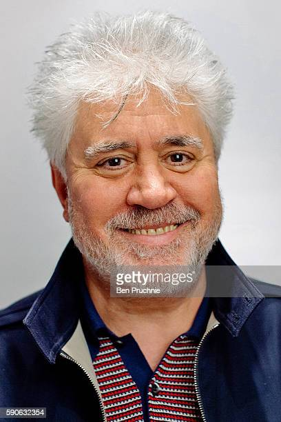 IMAGES HAS BEEN DIGITALLY MANIPULATED Pedro Almodovar poses for a portrait on August 12 2016 in London England