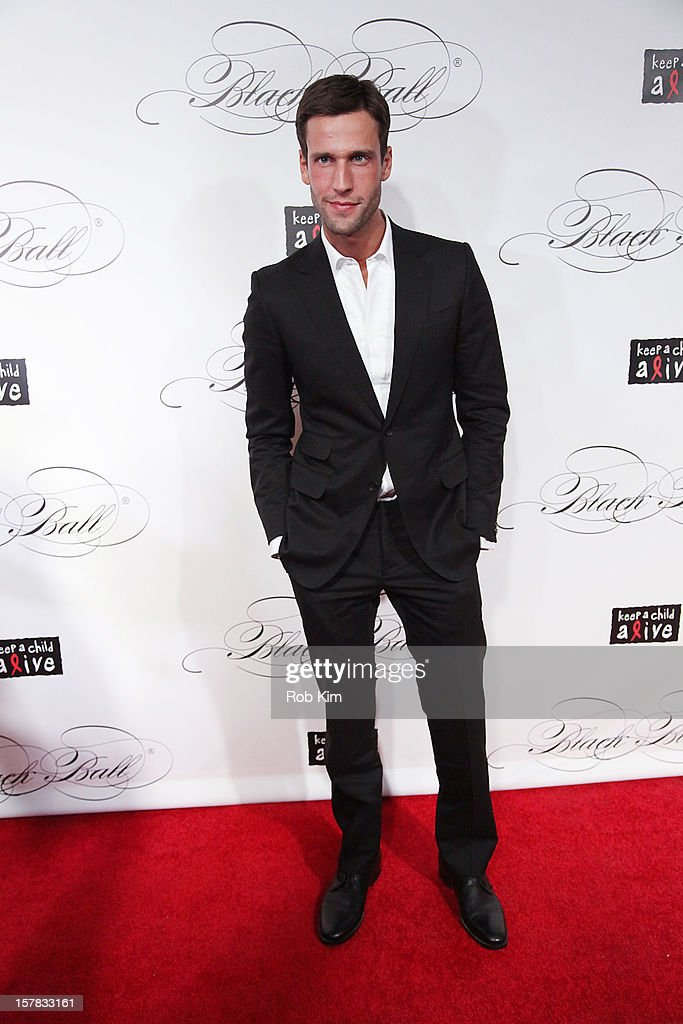 Pedro Andrade attends the Keep A Child Alive's Black Ball Redux 2012 at The Apollo Theater on December 6, 2012 in New York City.