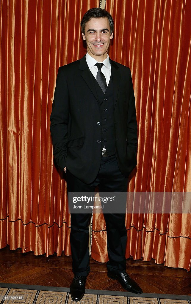 Pedro Carmo attends the 'Breakfast At Tiffany's' Press Preview at Cafe Carlyle on February 27, 2013 in New York City.