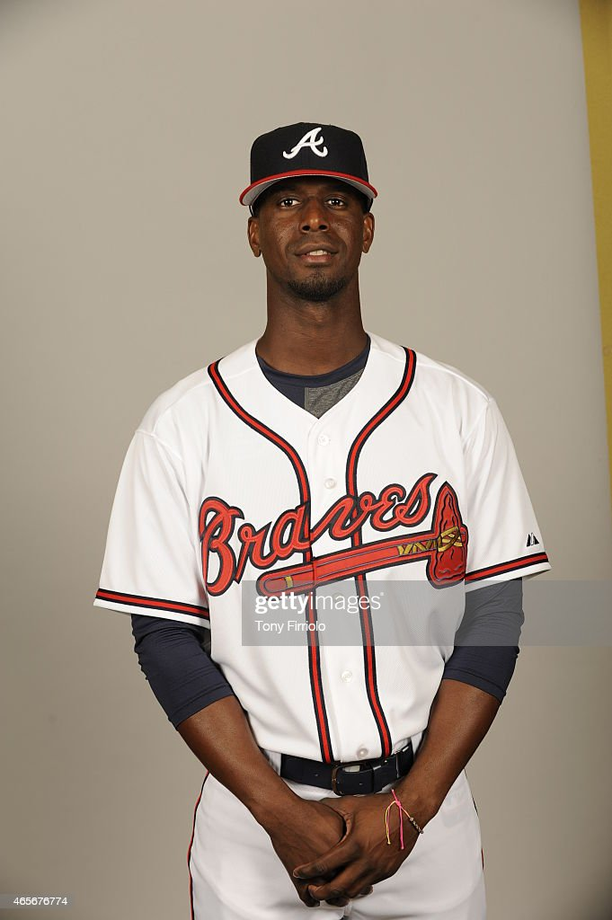 <a gi-track='captionPersonalityLinkClicked' href=/galleries/search?phrase=Pedro+Ciriaco&family=editorial&specificpeople=5718591 ng-click='$event.stopPropagation()'>Pedro Ciriaco</a> #61 of the Atlanta Braves poses during Photo Day on Monday, March 2, 2015 at Champion Stadium in Lake Buena Vista, Florida.