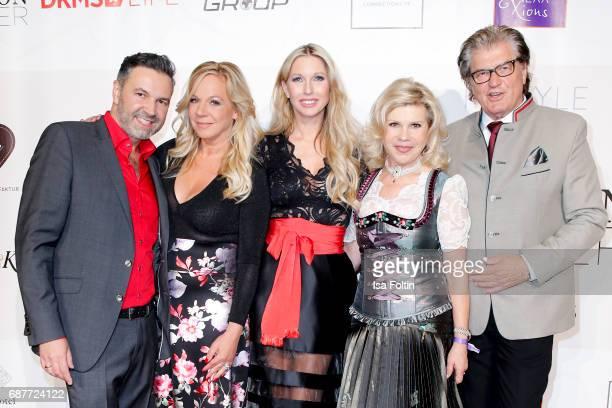 Pedro Da Silva Birgit FischerHoeper Sabine Piller German singer Marianne Hartl and her husband Michael Hartl attend the Kempinski Fashion Dinner on...