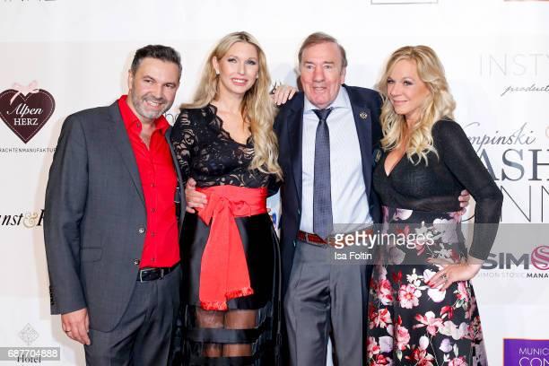 Pedro Da Silva Sabine Piller Frank Fleschenberg and Birgit FischerHoeper attend the Kempinski Fashion Dinner on May 23 2017 in Munich Germany