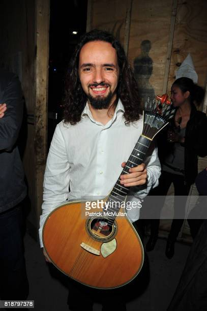 Pedro DaSilva attends Young Patrons of the PHILHARMONIC ORCHESTRA OF THE AMERICAS cocktail celebration at Casa Mezcal on April 27 2010