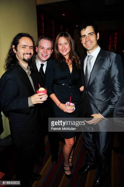 Pedro DaSilva Erik Stettler Jessica Quimby and Pablo Sainz Villegas attend MI ALMA MEXICANA The PHILHARMONIC ORCHESTRA OF THE AMERICAS Final Season...