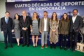 Cuatro Decadas De Deporte En Democracia' Presentation...