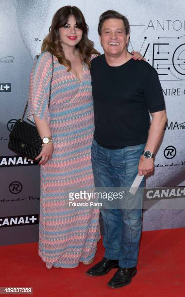 Pedro Maria Sanchez attends 'Antonio Vega Tu voz entre otras mil' photocall premiere at Proyecciones cinema on May 12 2014 in Madrid Spain