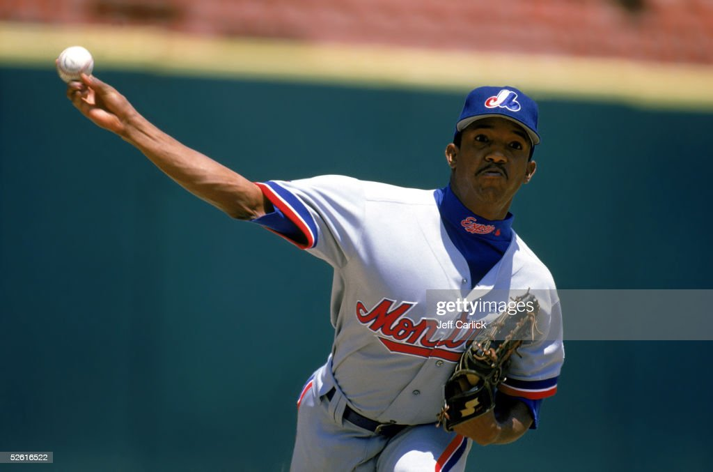 <a gi-track='captionPersonalityLinkClicked' href=/galleries/search?phrase=Pedro+Martinez&family=editorial&specificpeople=171773 ng-click='$event.stopPropagation()'>Pedro Martinez</a> of the Montreal Expos pitches during a 1996 season game. <a gi-track='captionPersonalityLinkClicked' href=/galleries/search?phrase=Pedro+Martinez&family=editorial&specificpeople=171773 ng-click='$event.stopPropagation()'>Pedro Martinez</a> played for the Montreal Expos from 1994-1997.