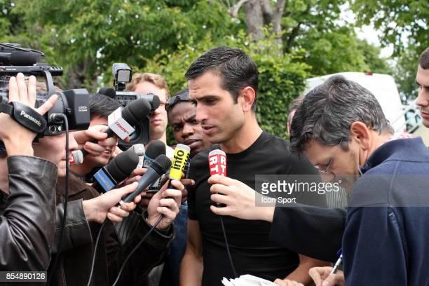 Pedro Miguel PAULETA Reprise entrainement du PSG Camp des Loges Saison 2007/2008