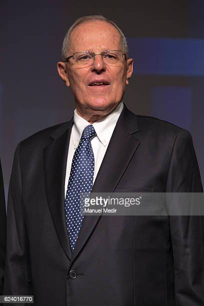 Pedro Pablo Kuczynski President of Peru poses during the Asia Pacific Economic Cooperation Summit on November 17 2016 in Lima Peru