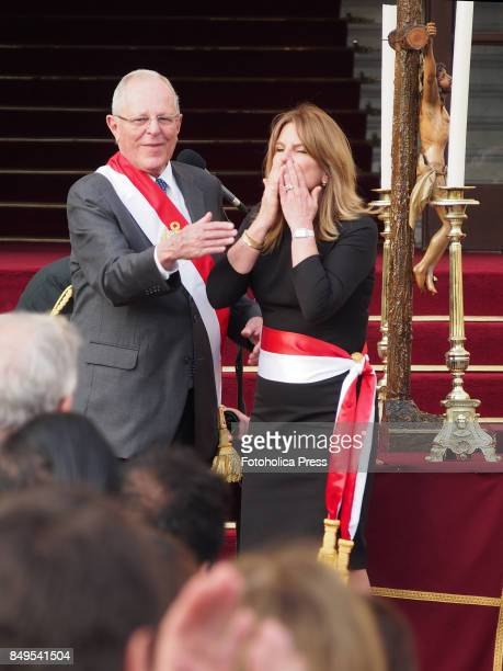 Pedro Pablo Kuczynski president of Peru swears in Cayetana Aljovín as Minister of Energy and Mines The entire cabinet had been dismissed last Friday...