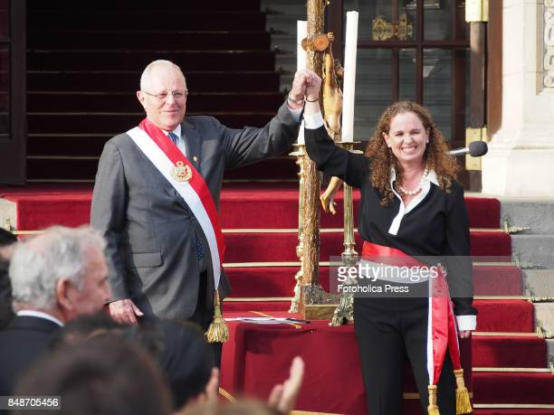 Pedro Pablo Kuczynski president of Peru swears in Claudia Cooper as new Minister of Economy The entire cabinet had been dismissed last Friday after...