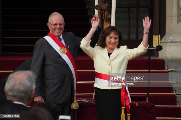 Pedro Pablo Kuczynski president of Peru swears in Elsa Galarza as Minister of the Environment The entire cabinet had been dismissed last Friday after...