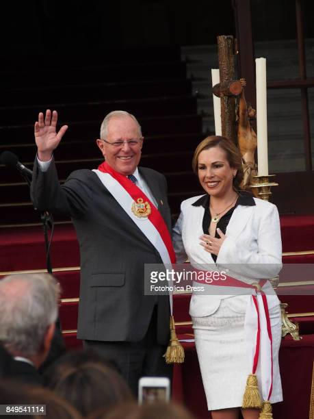Pedro Pablo Kuczynski president of Peru swears in Fiorella Molinelli as Minister of Development and Social InclusionThe entire cabinet had been...