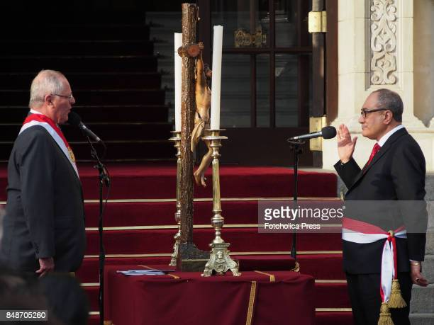 Pedro Pablo Kuczynski president of Peru swears in Idel Vexler as new Minister of Education The entire cabinet had been dismissed last Friday after it...