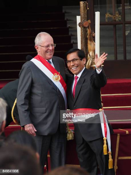 Pedro Pablo Kuczynski president of Peru swears in José Hernández as Minister of Agriculture and Irrigation The entire cabinet had been dismissed last...