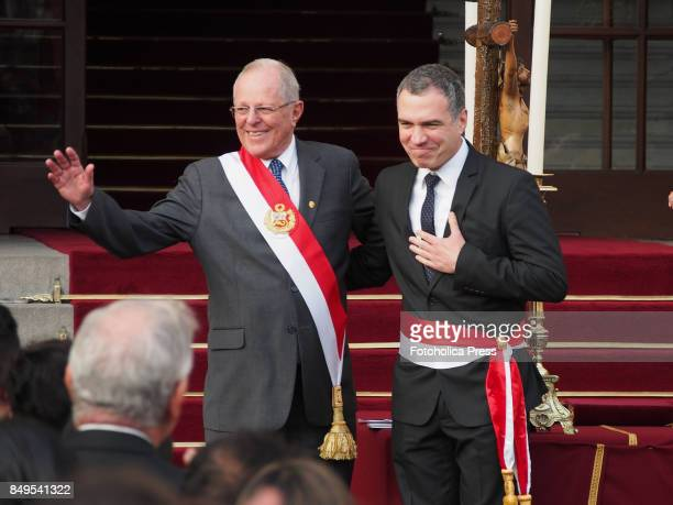 Pedro Pablo Kuczynski president of Peru swears in Salvador Del Solar as Minister of CultureThe entire cabinet had been dismissed last Friday after...