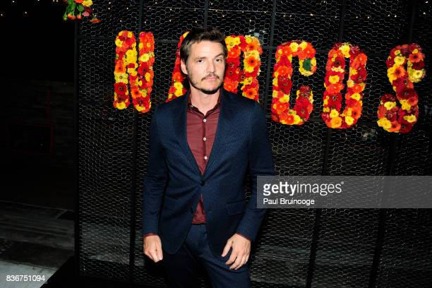 Pedro Pascal attends 'Narcos' Season 3 New York Screening After Party at Stage 48 on August 21 2017 in New York City